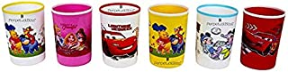 Perpetual Bliss Disney Theme Glasses for Kids / Birthday Return Gifts (Pack of 6)