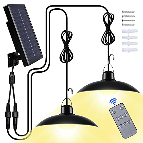 Luz Solar Exterior, Focos LED Exterior Solares con IP65 Impermeable para...
