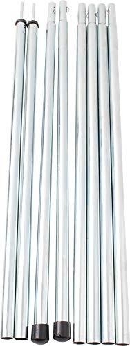 Brunner 0103004N Pali Verticali per Verande e Tende, 195 x Ø 16 mm