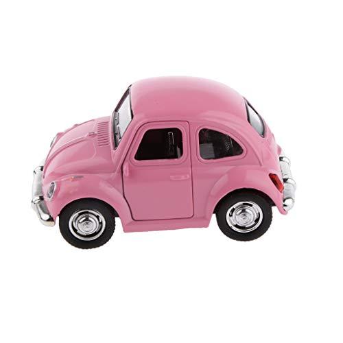 Generic Mini Modèle de Voiture Classique Coloré Die Cast Pull Back Jouet Cadeau Enfants - Rose, 180cm