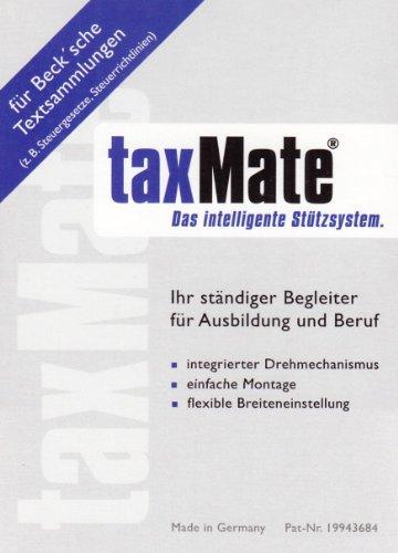 taxMate Buchstütze (schmale Variante): Buchstütze für die Loseblattsammlungen des Beck-Verlags