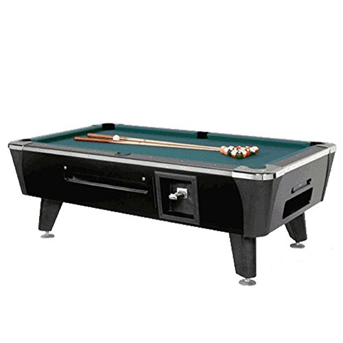 Fantastic Deal! Dynamo Sedona Coin Operated Pool Table -Black- 7'