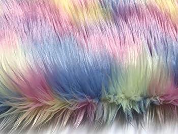 Best rainbow faux fur Reviews