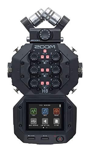 Zoom H8 - grabadora de 8 pistas - interface USB