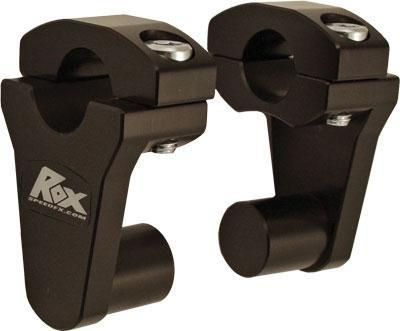 Rox Speed FX Elite Series Pivot Handlebar Riser - 2in. - Black 1R-P2SEK