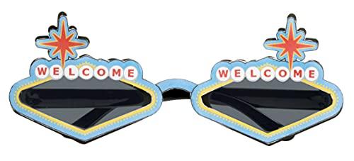 Rubie's Forum Novelty Las Vegas Sunglasses, As Shown, One Size