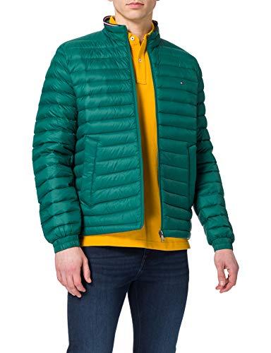 Tommy Hilfiger Herren Packable DOWN Jacket Jacke, Ländliches Grün, M