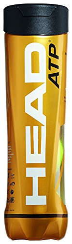 Head ATP Tour, Palline da Tennis, Uomo, 570314, Yellow, Taglia Unica