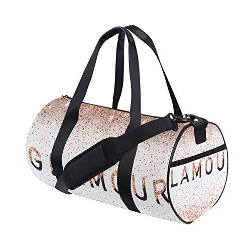 ZOMOY Sporttasche,Zauber Einladungs Karten Modeschau VIP,Neue Druckzylinder Sporttasche Fitness Taschen Reisetasche Gepäck Leinwand Handtasche