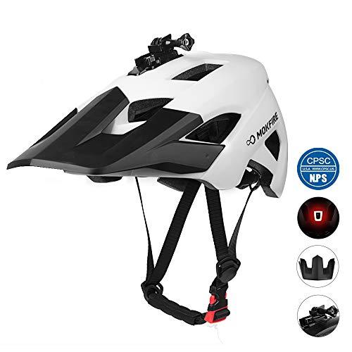 MOKFIRE Mountain Bike Helmet - Detachable Super...