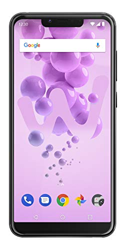 Wiko View2 Go Smartphone portable débloqué 4G (Ecran: 5,93 pouces - 32 Go - Double Nano-SIM - Android) Anthracite