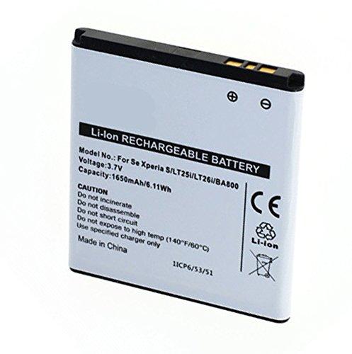 Akku, Ersatzakku BA800 mit 1500 mAh !!! für Sony LT25 / LT25C / LT25i / LT26 / LT26i / Arc HD / Hikari / Nozomi / SO-01E / SOL21 / Tsubasa / Tsubasa Xin / Xperia AX / Xperia S / Xperia V / Xperia VC / Xperia VL iMoBi