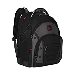 "Air flow back padding Music player pocket Padded computer pocket Fits most 15""/15.4"" widecreens Comfort fit back straps"