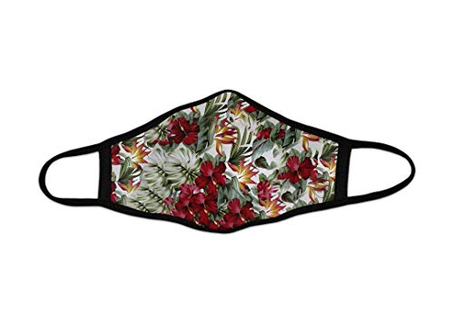 Mascarilla de Tela Homologada Reutilizable - Flores