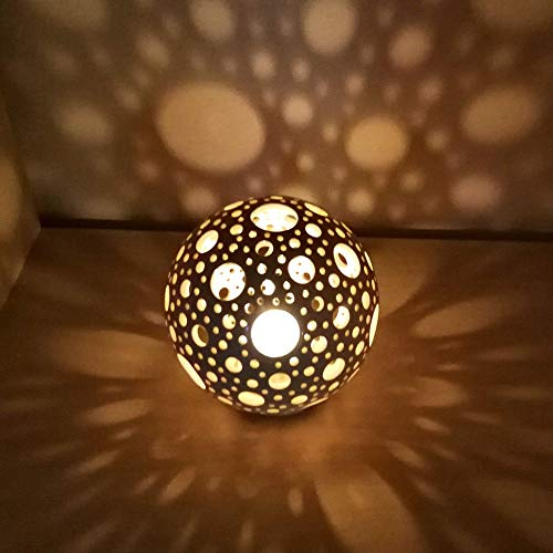 Cozyhomeideassphere Ceramic Lantern Ceramic Candle Holder With Bubbles Dailymail