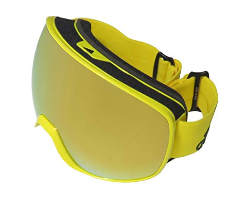 Adidas PROGRESSOR PRO Pack AD83 Shiny Bright Yellow/Spherical Gold Unisex skibrillen