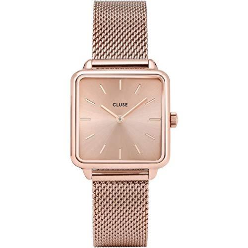 Cluse Damen Analog Quarz Uhr mit Edelstahl Armband CW0101207009