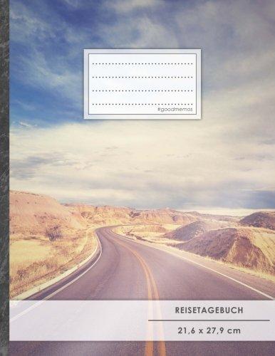 """Reisetagebuch: DIN A4, """"Success"""", 70+ Seiten, Soft Cover, Register, Reisecheckliste • Original #GoodMemos Travel Journal • Reisenotizbuch zum Selberschreiben"""