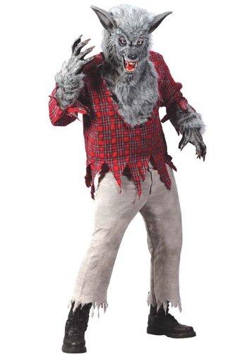 Costume Halloween luxe Mens loup-garou