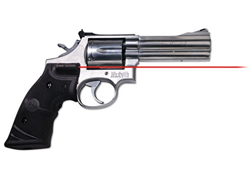 Crimson Trace LG-314 Lasergrips Red Laser Sight Grips Smith & Wesson N Frame (Round Butt) Revolvers