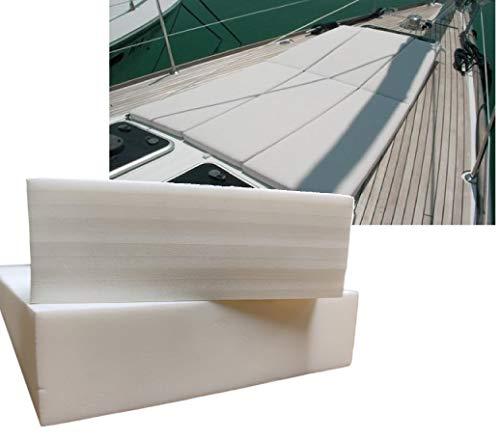 ShowRoom Vicidomini Air Gomma Gommapiuma cellula Chiusa Cuscini Barche Nautica Pannelli Spugna in PE (23 Morbido, 100 x 200 x 3 cm.)