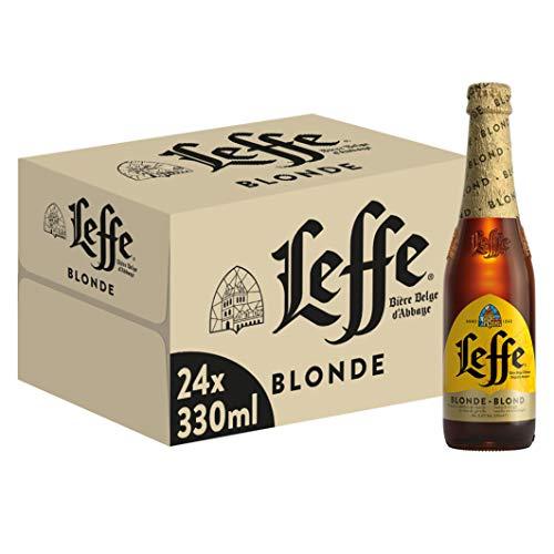 Leffe Blonde Birra - Pacco da 24 x 330 ml - 6.6% alcool