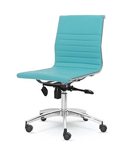Winport Furniture Office & Home Schreibtischstuhl Modern türkis