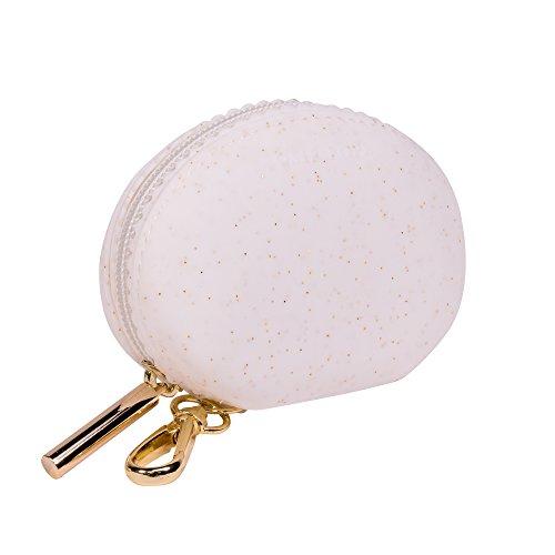 Rosie–Papa soporte de chupete Paci Pod y bolsillo, color blanco