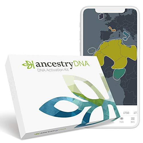 AncestryDNA: Genetic Ethnicity Test, Ethnicity Estimate, AncestryDNA Test Kit, Health and Personal...
