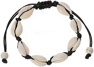 Boodtag Bracelets dAmiti/é Tiss/és /à la Main Fille Femme Cadeau Bracelet Bresilien Multicolore Extensible Pour Couple Saint Valentin