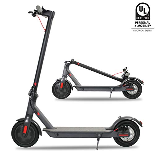 Emaxusa Electric Scooter for Adults,US Federal Agency Safety UL Certified,8.5' Tires 300W Motor...