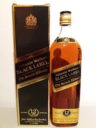 Johnnie Walker Black Label 1980s 1l