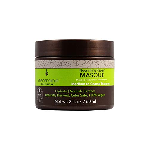 Macadamia Nourishing Moisture - mascarillas para el cabello (Mujeres, After shampooing, apply throughout damp hair from roots to ends. Comb through if desired. Leave on f)