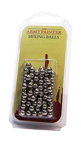 The Army Painter – Mixing Balls | Mischkugeln | 100 Stück | Edelstahl Shaker Acrylfarbe | Zubehör für Tabletop Wargames Miniaturmodellierung
