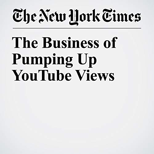The Business of Pumping Up YouTube Views copertina