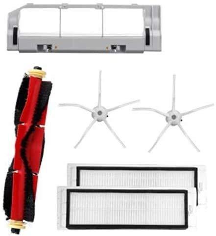 DONGYAO Adecuado para S6 S60 S65 S5 MAX T6 robot Partes de aspirador principal cepillo filtro lado cepillo Partes de aspirador partes