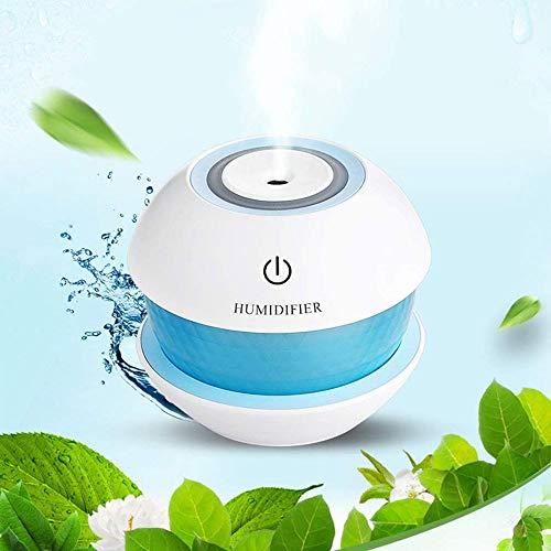 XZJJZ Auto Lufterfrischer Luftbefeuchter Ultraschall Luftreiniger Ventilator Portable mit Licht Office Home-Nebel-Hersteller (Color : D)