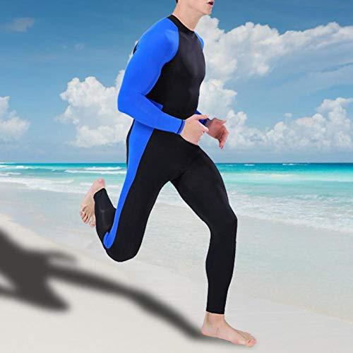 Germerse Diseño de Corte ergonómico Reduce la Resistencia Buceo Traje húmedo Traje de Buceo de una Pieza Agradable a la Piel Absorbe el Sudor Pesca para Buceo Profundo Buceo Libre Rafting(XXL)