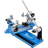VEVOR Tennis Besaitungsmaschine Tischtennisschläger Tennis Stringer Schläger Besaitungswerkzeuge Kurbel Besaitungsmaschine Aufspannmaschinen Tragbarer Werkzeuge Set(Blau)