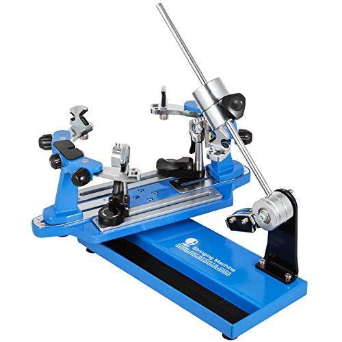VEVOR Máquina de Encordar de Tenis 53x22x25cm Máquina de Encordado de Raquetas de Tenis de Mesa Herramientas de Encordado de Raquetas de Tenis Máquina de Encordado Azul