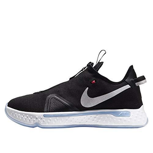 Nike Pg 4 Mens Casual Basketball Shoes Cd5079-001 Size 11.5, Black/White-lt