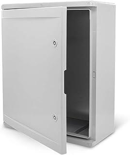 IDE GN403020 Armoires portes opaques avec plaque Gris 400 mm x 300 mm x 200 mm