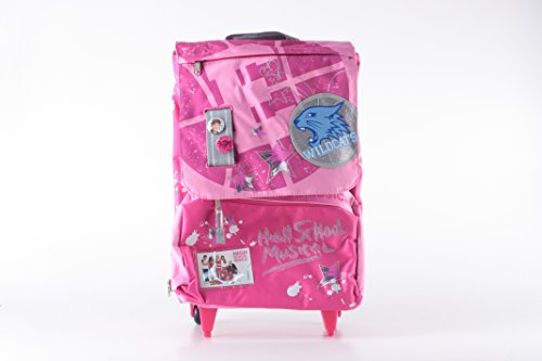 "GIOCHI PREZIOSI LSC09987 - ZAINO TROLLEY ESTENSIBILE ""HIGH SCHOOL MUSICAL"" MOD. WILDCATS - Dimensioni: 41x27x12(+4,5) cm"