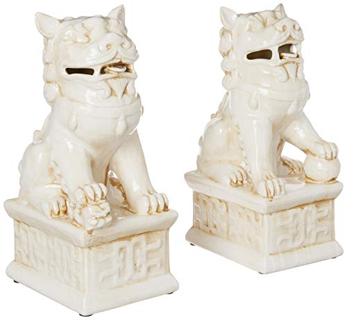 TIC Collection 24-618 Fu Dogs PR Statues