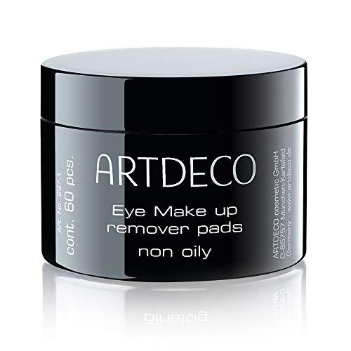 ARTDECO Eye Makeup Remover Pads, Augen Make up Entferner Pads, ölfrei (60 Stück)
