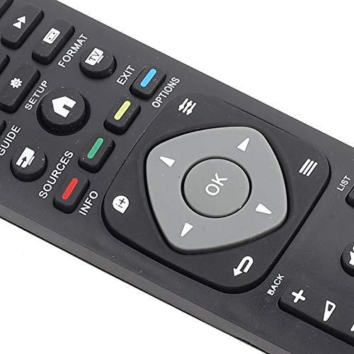 VBESTLIFE Télécommande de Remplacement Universelle pour la télévision Intelligente de pour Philips LCD LED.