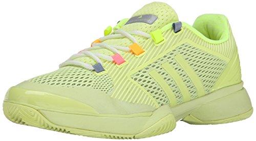 adidas Performance Women's ASMC Barricade 2015 Tennis Shoe, White/White/Yellow, 10 M US