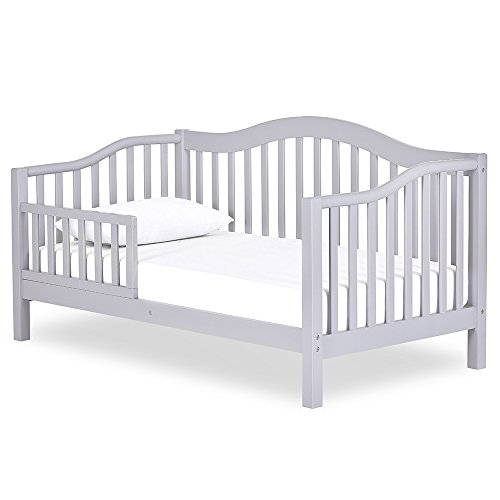 Dream On Me Austin Toddler Day Bed in Pebble Grey, Greenguard Gold Certified