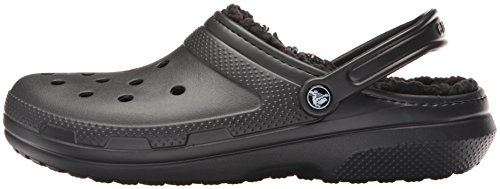 CROC Men's and Women's Classic Lined Clog   Warm and Fuzzy Slippers
