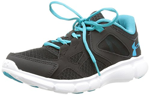 Under Armour Womens Thrill, Black/White, 6 B